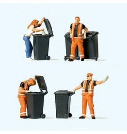 Preiser Hobby Walthers HO Scale Garbage Collection
