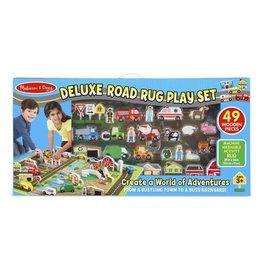 Melissa & Doug Rug - Deluxe Road Play Set