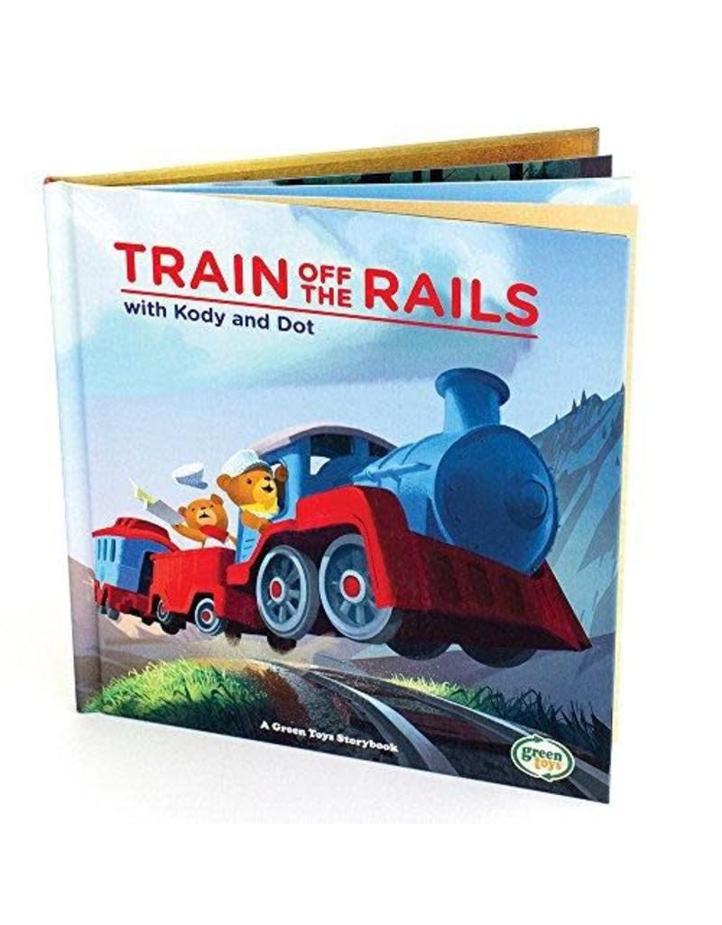 Green Toys Book - Train off the Rails Book