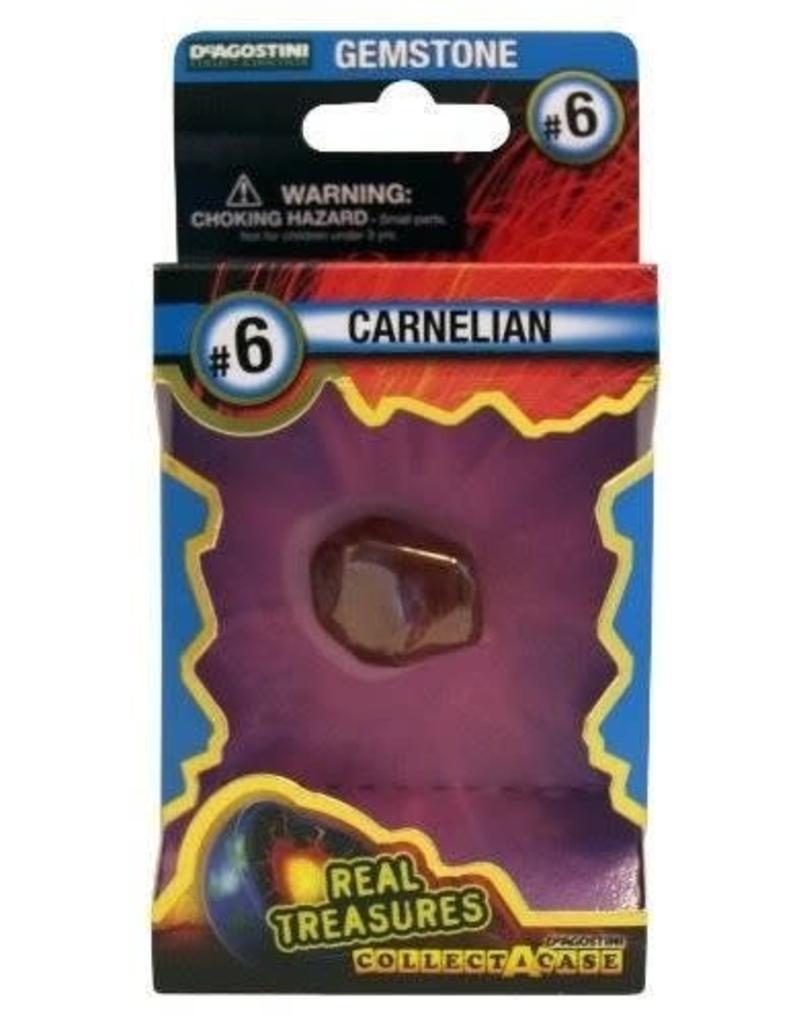 DeAgostini Real Treasures Gemstone - Carnelian