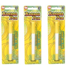 "Rhode Island Novelty Pen - 5.5"" Banana"