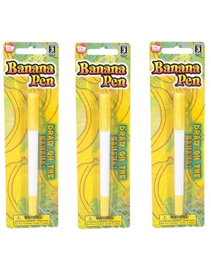 "Rhode Island Novelty Pen - Banana (5.5"")"