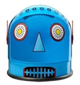 Aeromax Youth Helmet - Robot (Blue)