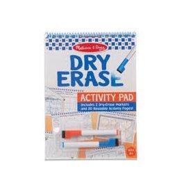 Melissa & Doug Art Supplies Dry-Erase Activity Pad
