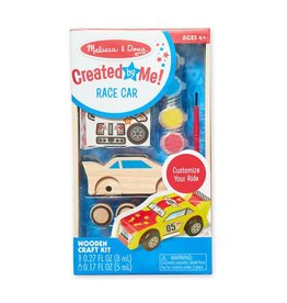 Melissa & Doug Created by Me Race Car