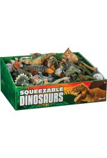 Toysmith Squeezable Dinosaur- Assorted