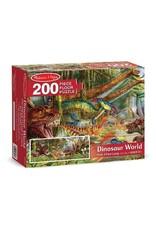 Melissa & Doug Dinosaur World Floor Puzzle (200 pc)