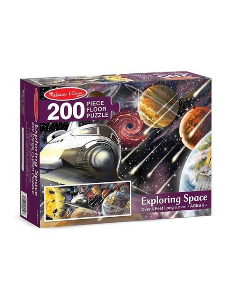 Melissa & Doug Exploring Space Floor Puzzle (200 pc)