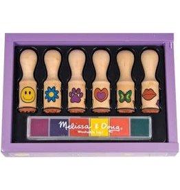 Melissa & Doug Stamp Set - Happy Handle