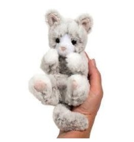 Douglas Plush Lil Handful Kitten - Gray