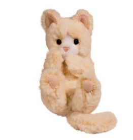 Douglas Lil Plush Handful Kitten - Cream