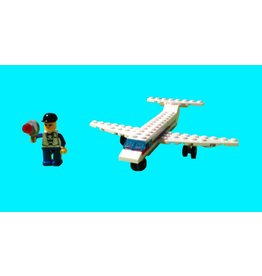 Wange Mini Transportation Egg - Airplane