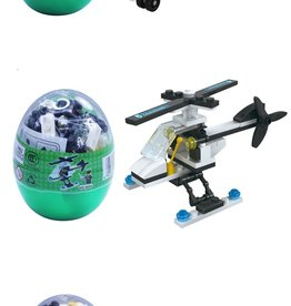 Wange Mini Transportation Egg - Helicopter