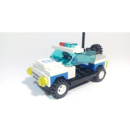 Wange Mini Transportation Egg - Police Car