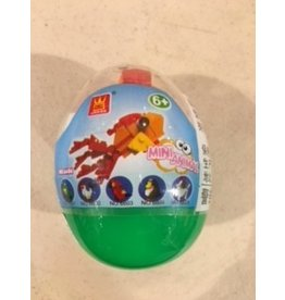 Wange Mini Animals Egg - Fish