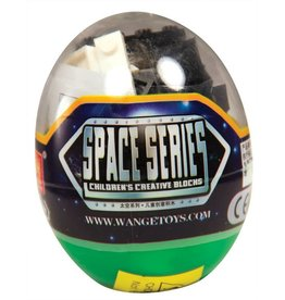 Wange Space Series Egg Blocks 6701 (1 of 6 Assorted Styles)