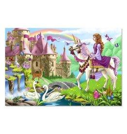 Melissa & Doug Floor Puzzle - Fairy Tale Castle - 48 Piece