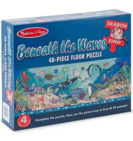 Melissa & Doug Floor Puzzle - Beneath the Waves - 48 Piece