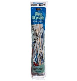 Guillow's Hobby Balsa Wood Glider Guillow's Sky Streak Airplane - Blue