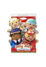 Melissa & Doug Hand Puppets - Jolly Helpers
