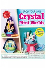 Klutz Grow Your Own Crystal Mini Worlds
