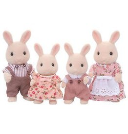 Epoch Calico Critters Sweetpea Rabbit Family