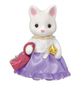 Calico Critters Town Girl Series - Lulu Silk Cat