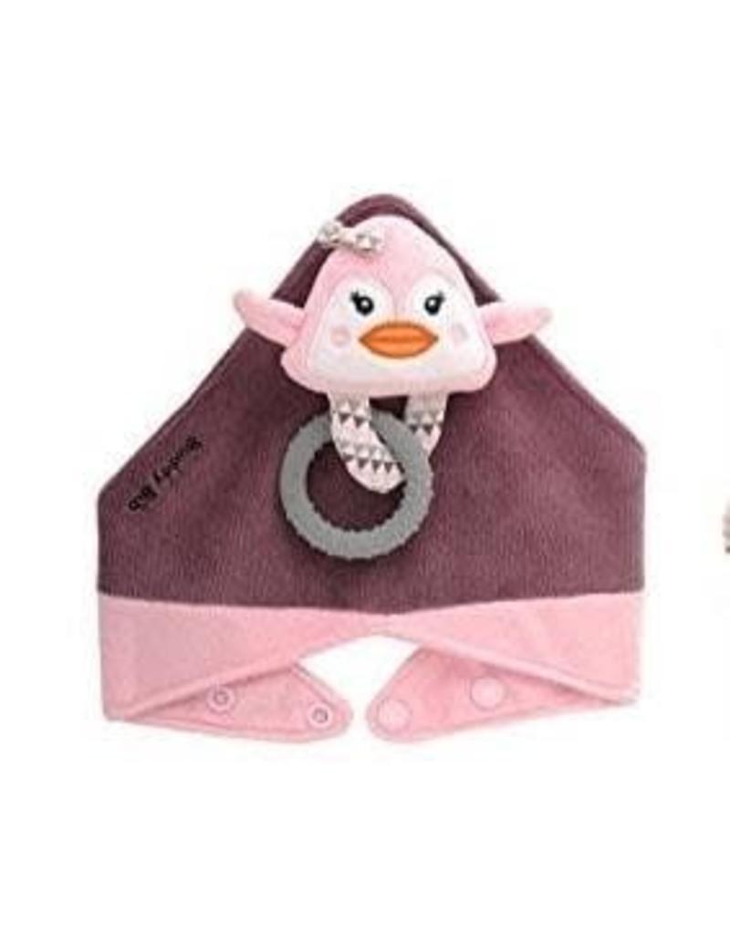 Malarkey Kids Pinky Penguin Buddy Bib