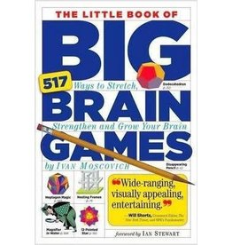 Workman Publishing Co Puzzle Book - Little Big Book of Brain Games
