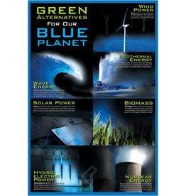 Safari Ltd. Poster - Green Alternatives / Blue Planet