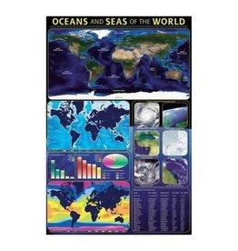 Safari Ltd. Oceans & Seas Poster