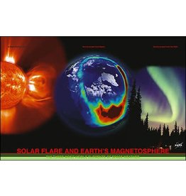 Safari Ltd. Solar Flare & Earth Magnetosphere Poster