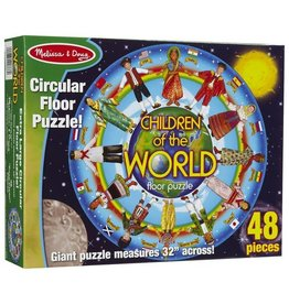Melissa & Doug Children Around the World Floor (48 pc)