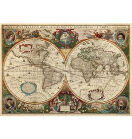 Safari Ltd. Nova Totius Terrarum Orbis Geographica Tabvla Poster