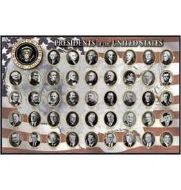 Safari Ltd. Presidents of the United States Poster