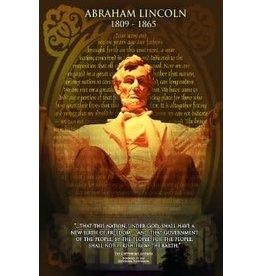 Safari Ltd. Poster - Abraham Lincoln