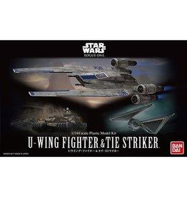 Bandai Bandai - Star Wars - U-Wing Fighter & Tie Striker 1/144 Scale Plastic Model Kit