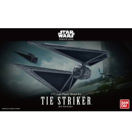 Bandai Star Wars Tie Striker 1/72 Scale Plastic Model Kit