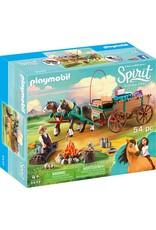 Playmobil Playmobil Lucky's Dad and Wagon