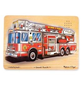 Melissa & Doug Fire Truck Sound Puzzle