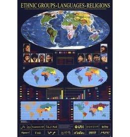 Safari Ltd. Poster - Ethnic Groups, Languages, Religions