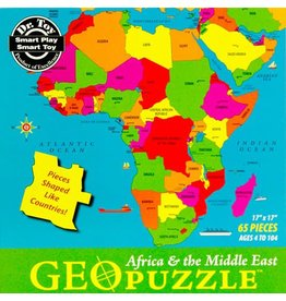 Geo Toys Africa and the Middle East Geopuzzle