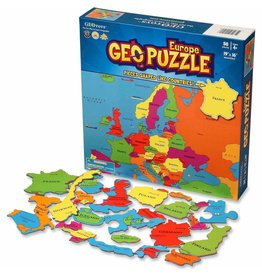Geo Toys GeoPuzzle - Europe  - 58 Piece
