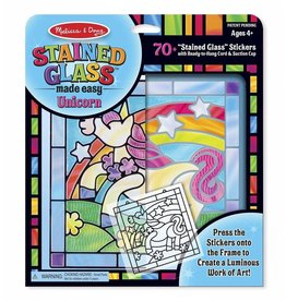 Melissa & Doug Craft Kit Stained Glass - Unicorn