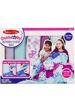 Melissa & Doug Created By Me! Butterfly Fleece Quilt