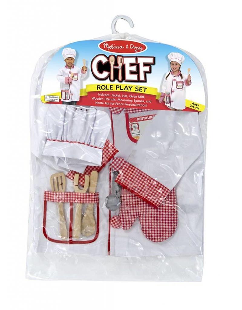 Melissa & Doug Costume - Chef Role Play Set