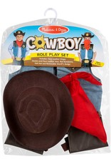 Melissa & Doug Costume - Cowboy Role Play Set