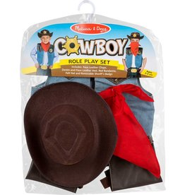 Melissa & Doug Costume - Cowboy Role Play Set