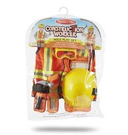 Melissa & Doug Costume - Construction Worker Role Play Set
