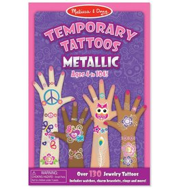 Melissa & Doug Temporary Tattoos - Metallic